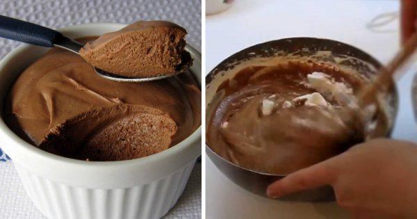 La receta del día: Mousse de chocolate. ¡Un postre especial para los pequeños de casa!