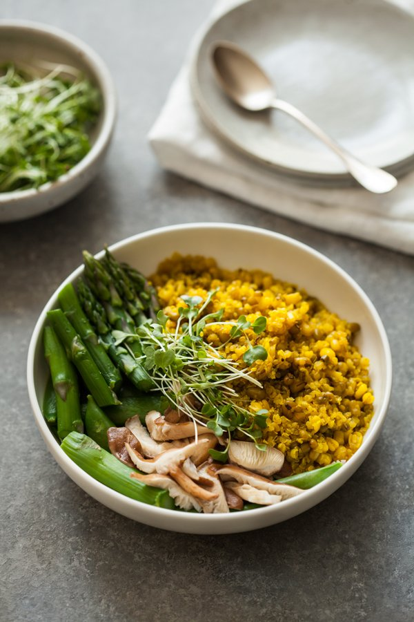 C mo preparar quinoa con jengibre y c rcuma for Cocinar quinoa negra