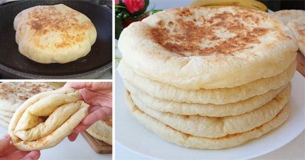 La receta del día: Panecillos turcos elaborados en una sartén
