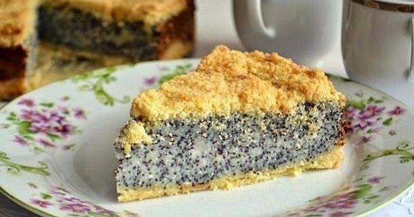 Pastel alemán de requesón con semillas de amapola: Un postre delicioso y fácil de preparar…