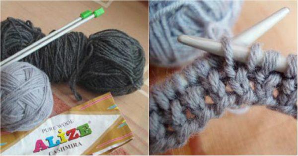 2 maneras de hacer una bufanda-transformer de estilo, con esquemas y descripciones. Ligera, suave y peluda…