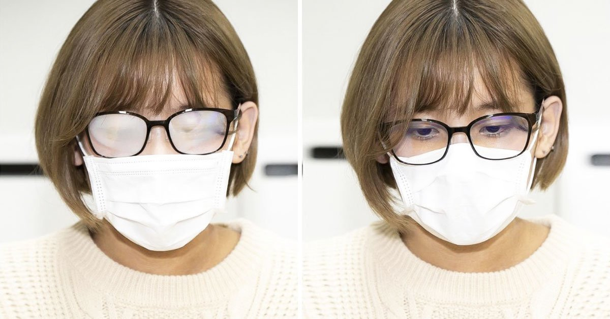 Cómo usar una mascarilla sin que se empañen las gafas