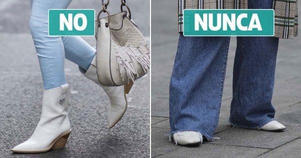 ¿Con qué zapatos puedes usar jeans para no lucir una imagen pasada de moda?