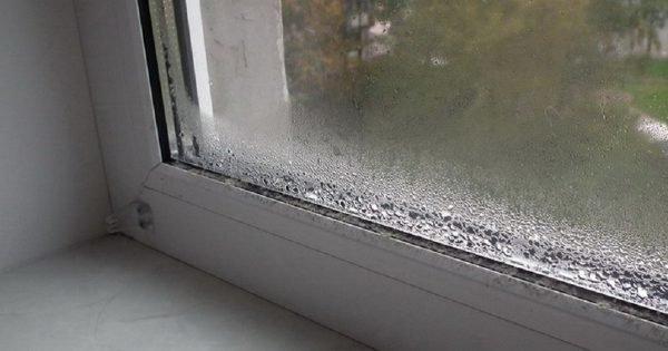 Cómo olvidarse de la condensación en las ventanas de plástico.