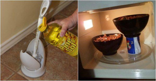 11 trucos brillantes que pueden facilitar las tareas diarias del hogar.