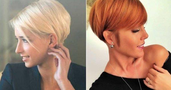 ¿Por qué deberías lucir un corte de pelo corto con flequillo?