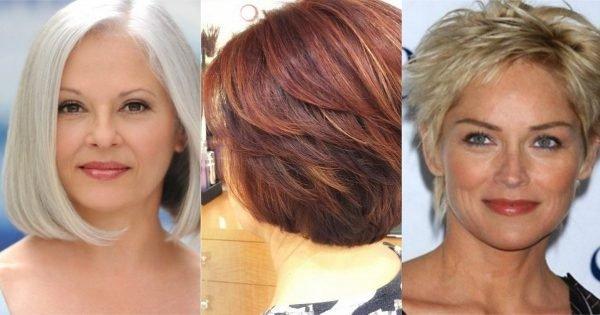 Cortes de pelo de moda para cabello fino de longitud media.