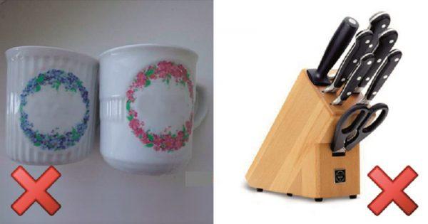 15 objetos comunes, para los que no hay lugar en una cocina impecable...