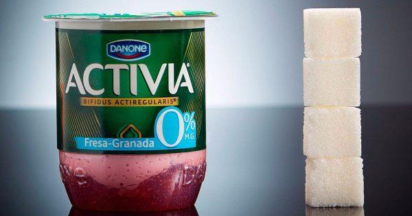 ¡Te sorprenderá saber que yogur al 0% contiene 4 terrones de azúcar! Y sin hablar del resto de alimentos…