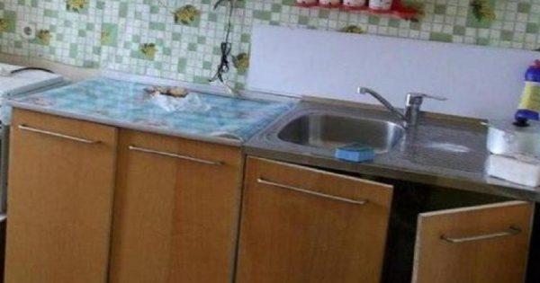 Arreglos con pocas inversiones: Cómo restaurar un mueble de cocina estropeado.