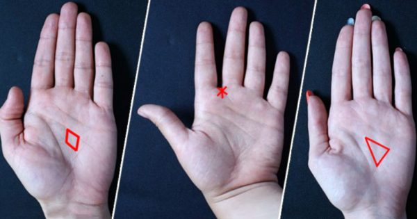 Un triángulo, una estrella o un diamante en la palma de tu mano contarán mucho sobre tu destino