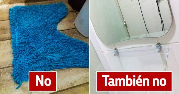 Principales errores que hacen deslucir el cuarto de baño