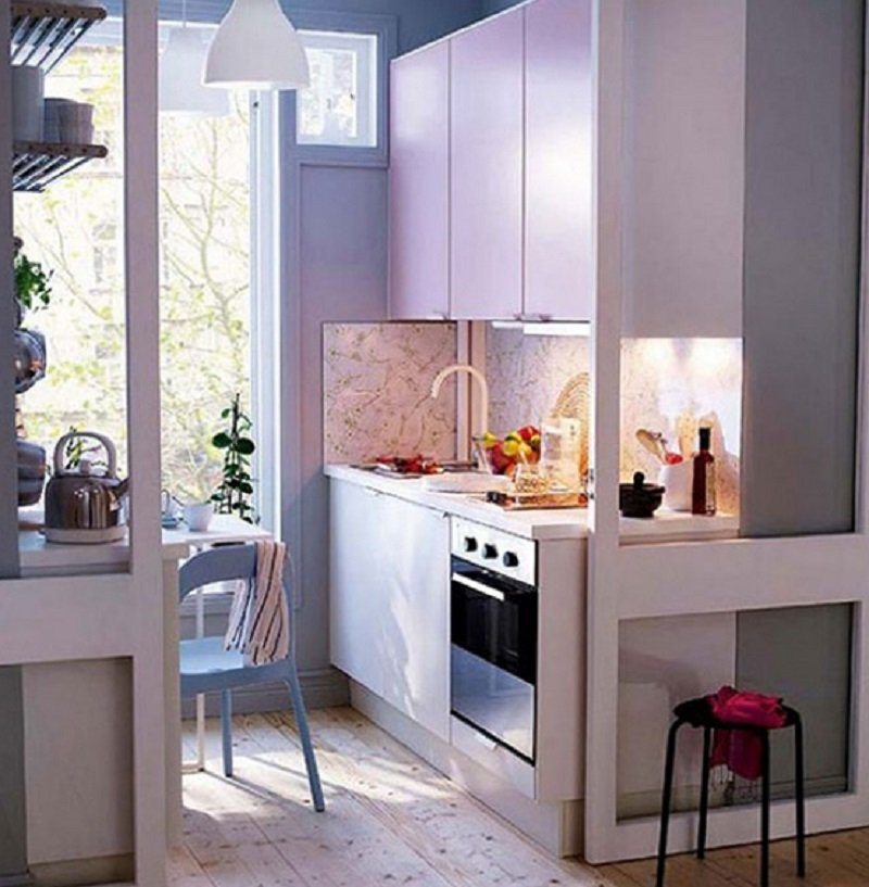 Dise o para una cocina peque a for Una cocina pequena
