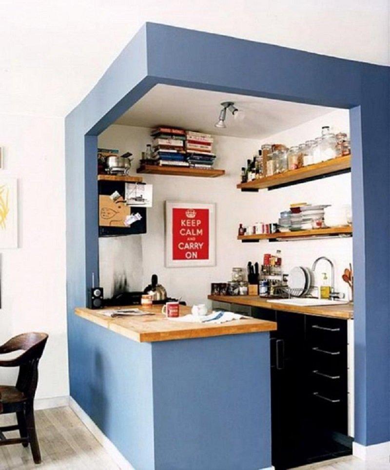 Diseño para una cocina pequeña