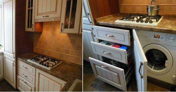 Ideas de diseño para una cocina pequeña.