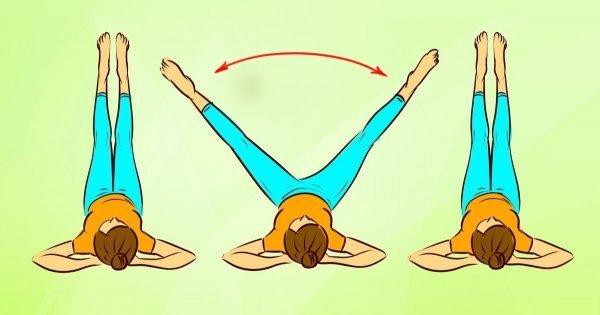 Técnica de ejercicios japoneses para piernas y caderas.