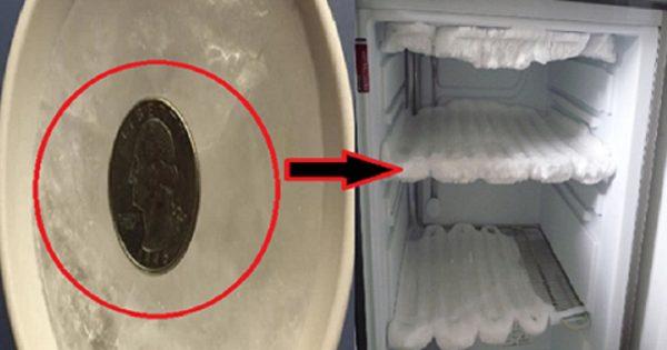 Al salir de casa, ella dejó una moneda en el congelador… Apartir de ahora voy a hacer lo mismo.