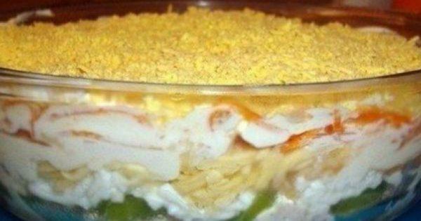 Ensalada genial para una fiesta: ¡Con mayonesa casera o crema agria, resulta muy sabrosa!