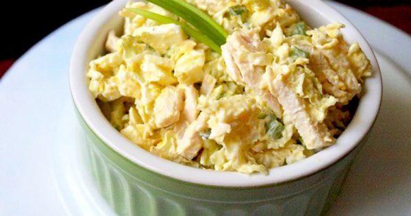 Una ensalada apetitosa que lleva tan solo 77 calorías. ¡Come y adelgaza!