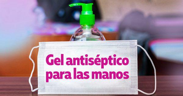 Instrucciones para la fabricación de antisépticos para manos.