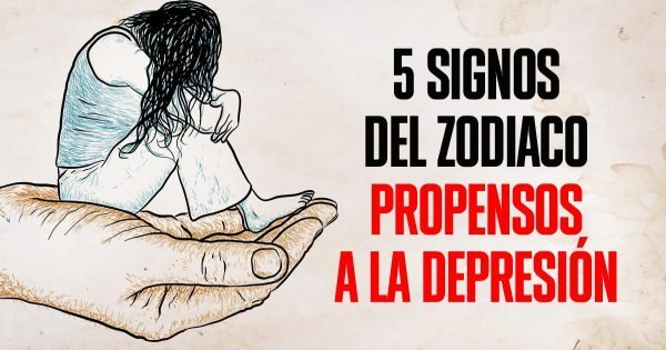¿Qué signos del zodíaco son más propensos a caer en la depresión?