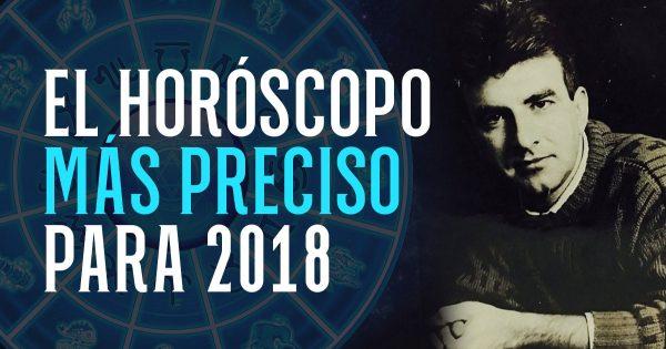 Aventuras amorosas y cambios fatídicos que te esperan en el 2018. ¡El horóscopo más exacto ya ha salido!