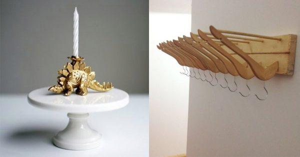 Unas ideas geniales para tu hogar: ¡objetos decorativos y cosas prácticas!