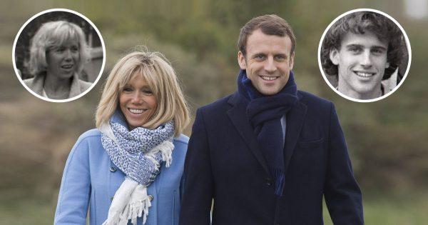 Mi antigua profesora de francés, mi gran amor: Brigitte Macron, la esposa del presidente de Francia…