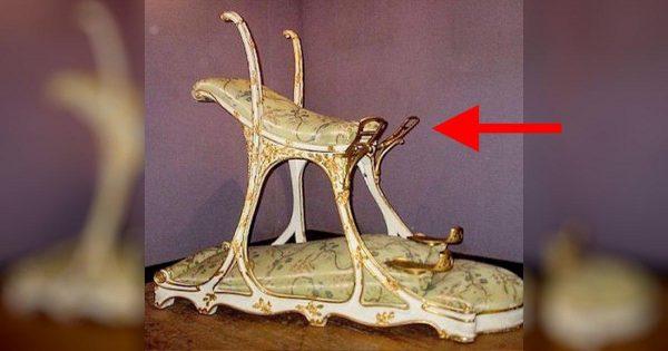 Esta silla inusual fue ordenada por una orden del rey Eduardo VII. ¡Si supieras cómo la usó el monarca!