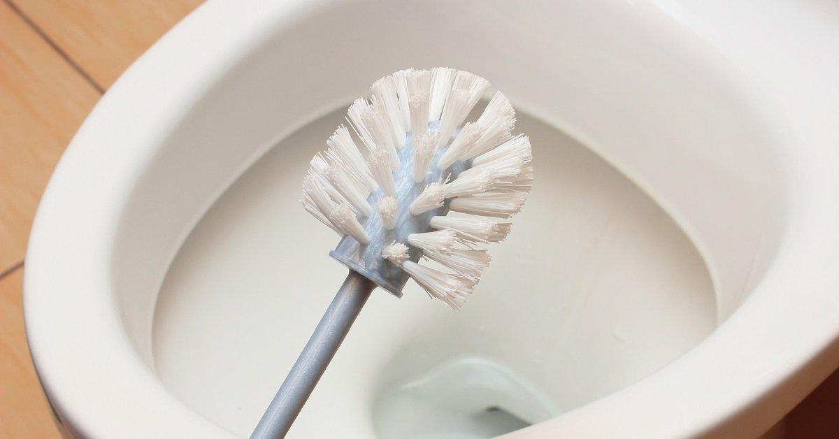¿Por qué debemos dejar un cepillo debajo de la tapa del inodoro?
