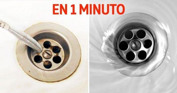 Cómo limpiar un sifón en un baño
