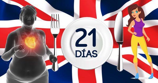Dieta inglesa para deshacerse de kilos de más en solo 21 días. Será difícil los primeros dos días, pero luego…