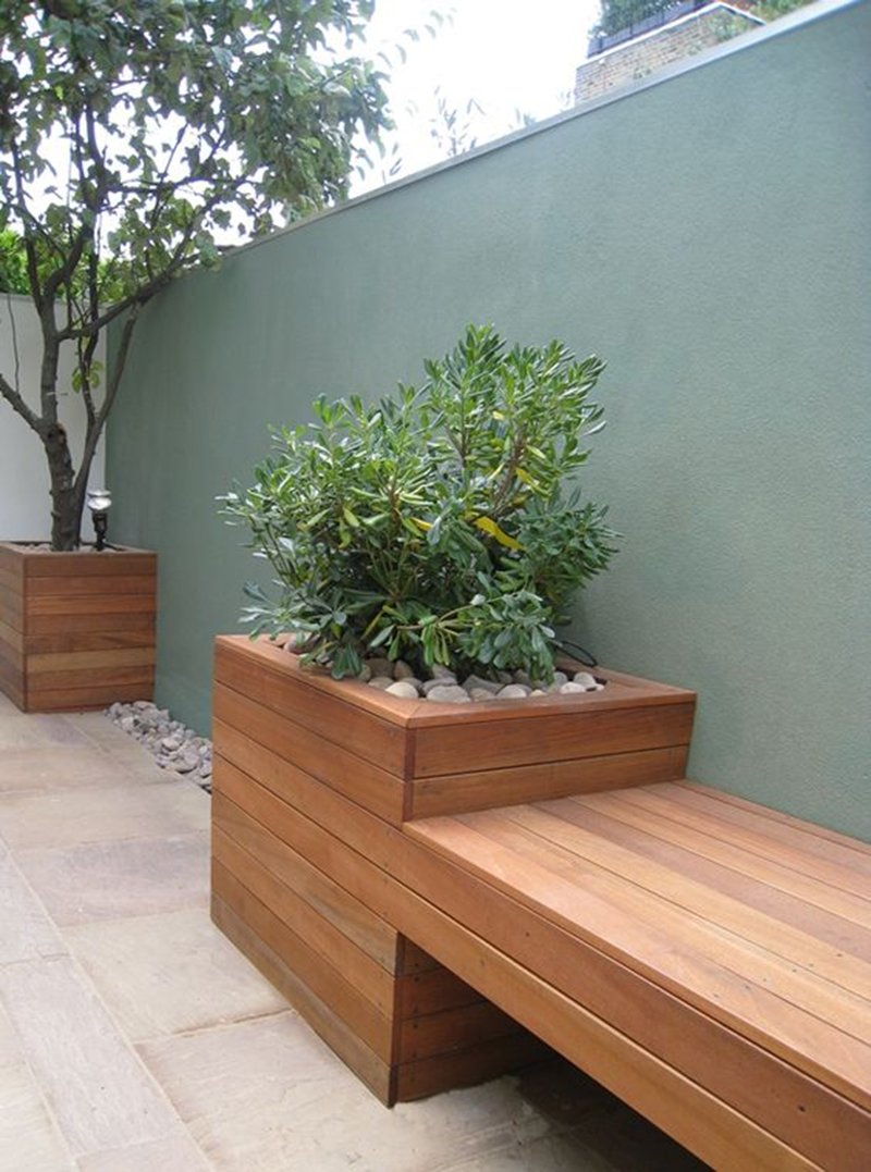 Muebles de jardín de madera - photo#48