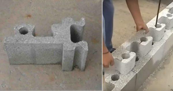 ¡Estos ladrillos especiales permiten construir una casa – en pocas horas y sin cemento!