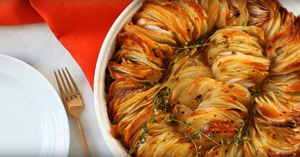 Cómo preparar unas papas crujientes en el horno. ¡Jamás has probado un plato así de sabroso!
