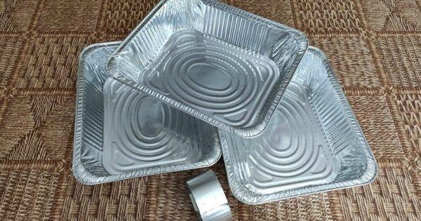 Moldes de papel de aluminio para otros fines