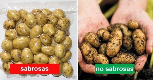 ¿Sabes cómo elegir las patatas tiernas correctamente? ¡Un vendedor me enseñó ese truco!