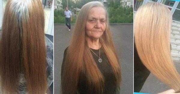 Cómo arreglar el cabello largo después de los 40