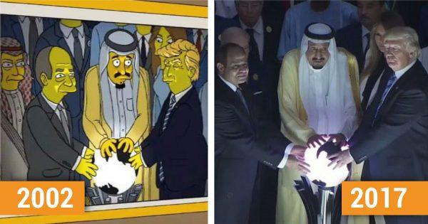 10 cosas que los «Simpsons» predijeron cien veces mejor que Nostradamus.