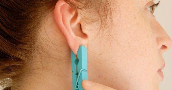 Puntos activos en la oreja para aliviar el dolor