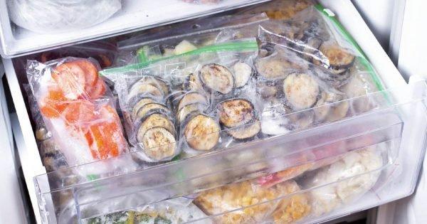 ¿Qué alimentos y platos toleran bien la congelación?