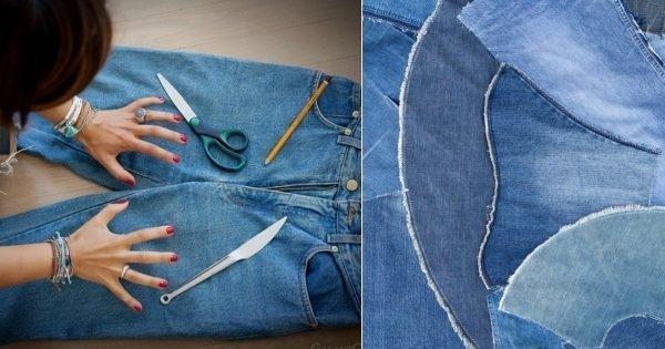 ¿Qué se puede hacer con jeans viejos que ya no usas?