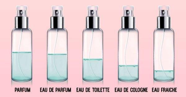 No te dejes engañar! Esta es la diferencia entre el perfume, el agua de tocador y la colonia…