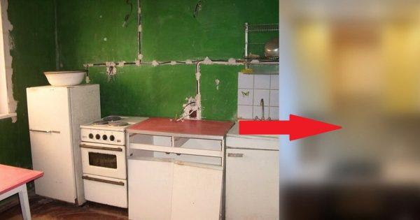Antes y después de la reparación: ¡Tu cocina quedará irreconocible!