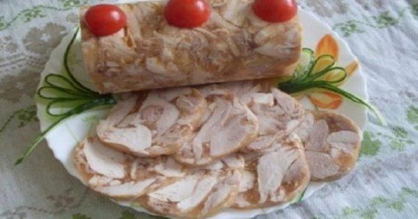 Rollo de pollo en una botella: ¡Una receta casera genial y fácil de preparar!