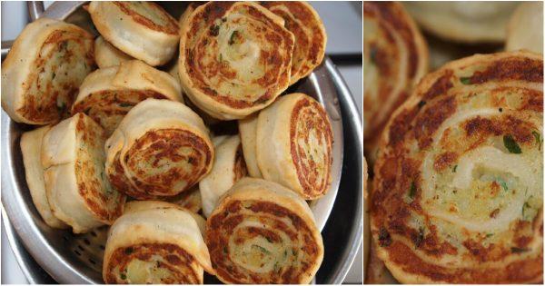 Alupatras, rollos de patata: ¡Ligero bocadillo más sabroso que chuletas!