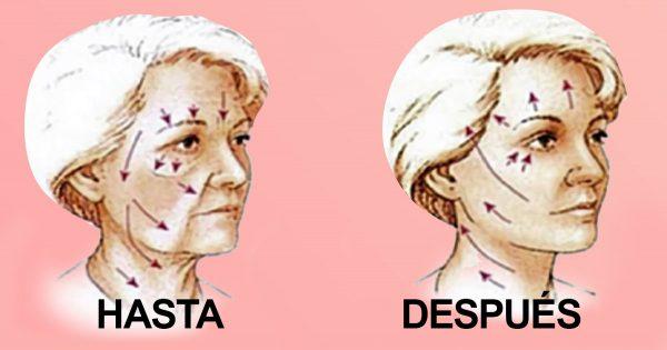 Este método me ayudó en poco tiempo a tensar mi rostro y a eliminar las arrugas. ¡Pruébalo!