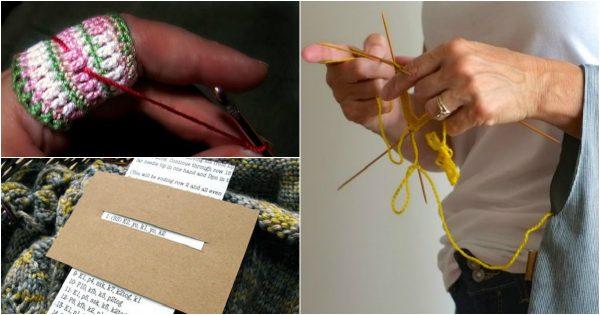¡15 trucos, con los cuales aún una novata aprenderá a tejer bien!