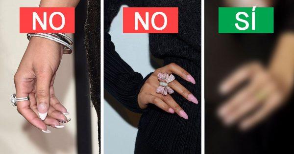 10 ejemplos de manicura elegante y vulgar. En 2018, mucho quedó en el pasado…