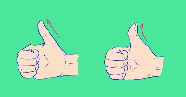¿Sabías que el ángulo de flexión de tu pulgar puede contar todo sobre ti? El test más preciso de la personalidad…